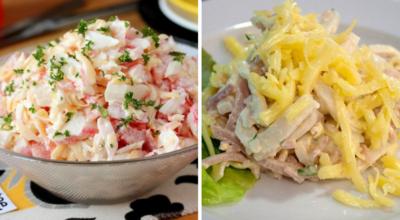 10 самых быстрых салатов
