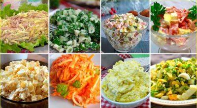 10 рецептов ярких ЯИЧНЫХ САЛАТОВ на любой вкус!