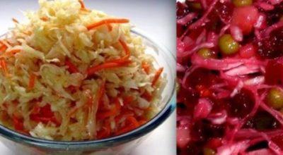 5 моих любимых постных овощных салатов