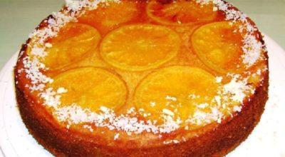 Изумительно вкусный и красивый пирог с апельсинами