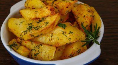 Кaртофель в соевом соусе — так вкусно, что хочется готовить каждый день