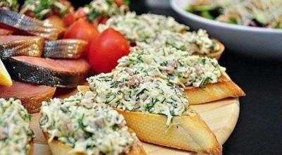 Лучшие бутерброды для праздничного стола