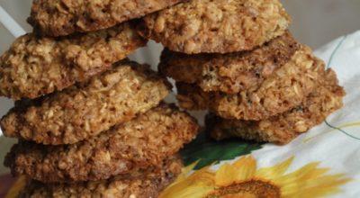 Обалденно вкусное овсяно-ореховое печенье