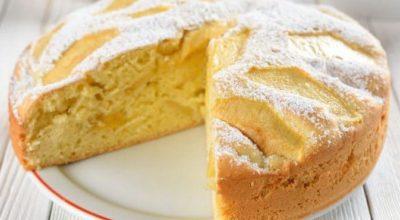 Ароматная шарлотка без яиц – самый популярный десерт