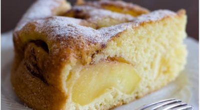 Шарлотка без яиц – самый популярный десерт