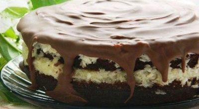 Торт «Баунти», райское наслаждение. Приготовь, не пожалеешь