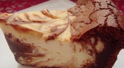 Творожно-шоколадная запеканка «Мрамор» — нереально вкусно