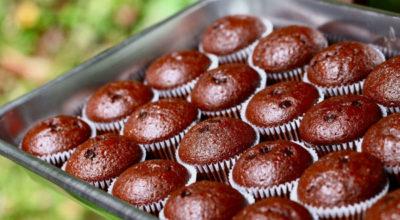 Вкуснейшие шоколадные кексы
