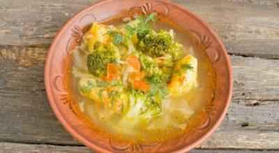 Вкусный постный суп