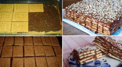 Вкусный торт печенье, который вы точно никогда не ели