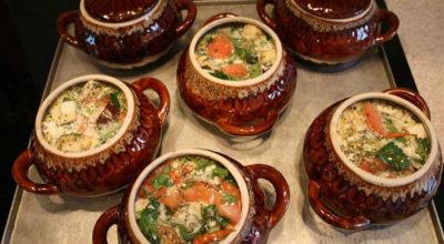 16 рецептов блюд в горшочке