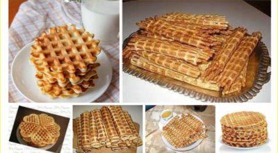 30 крутых рецептов вафель для электровафельницы