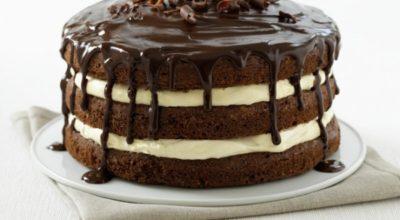 Бабушкин рецепт: торт «Мишка» с орехами и сливочным кремом