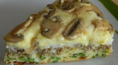 Бесподобно вкусный слоеный пирог-перевертыш. Сочетание его продуктов потрясающе. Убедитесь сами
