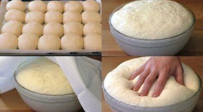 Легкое дрожжевое тесто на воде без яиц: простота, удобство и вкус в одном рецепте