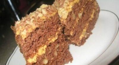 Этот торт — золотая классика домашней выпечки