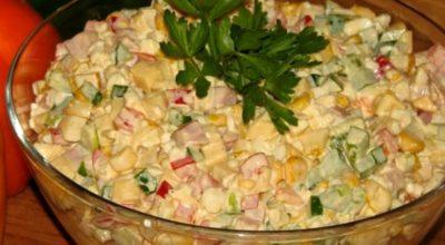 Легкий, но очень сытный салат «Аленушка»: сказочное наслаждение в каждой ложке