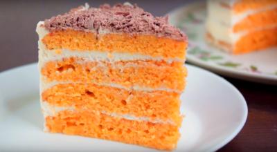 Морковный торт, который тает во рту-необычайно мягкий