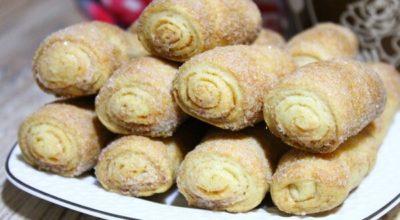 Обалденное вкусное хрустящее печенье