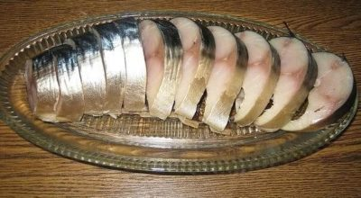 Потрясающая соленая скумбрия — самый удачный рецепт