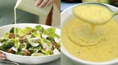Пять вкусных соусов к салату. Совершенно новые вкусы и сочетания