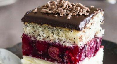 Райское наслаждение в торте «Вишнёвая фантазия»