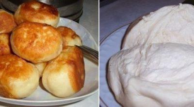 Рецепт, который должна знать каждая хозяйка — тесто на кефире для пирожков, без дрожжей