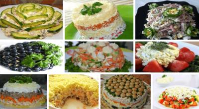 ТОП-10 супер рецептов праздничных салатов