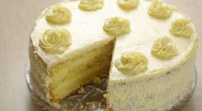Торт с волшебным вкусом и кремом «Пломбир»