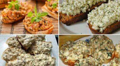 12 вкусных намазок на хлеб, которые утолят голод в два счёта