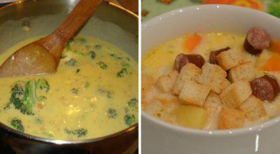 Домашний сырный суп вкуснее ресторанного: 7 вариантов на любой вкус