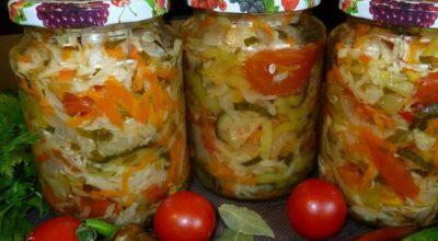 Капустный салат «Белоцерковский» на зиму