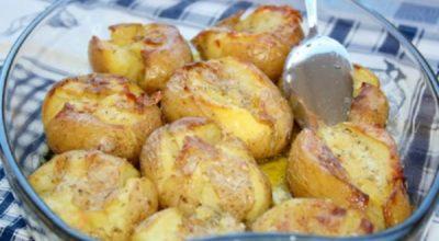 Теперь запеченный картофель люблю еще больше. До невозможного вкусное блюдо португальской кухни