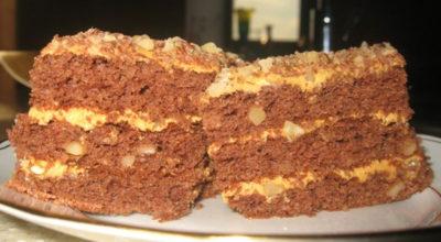 Торт «Золотой ключик». Все детишки очень любят