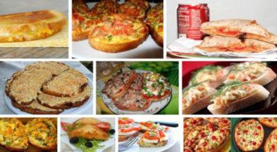 10 рецептов самых вкусных и быстрых горячих бутербродов
