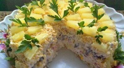 Бесподобный вкусный салатный торт «Чародейка»