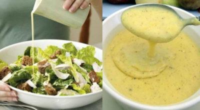 Теперь главной изюминкой салата является соус. Мы подобрали для вас 5 лучших соусов