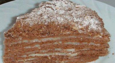 Интересный и вкусный тортик «Пчёлка» — пальчики оближешь