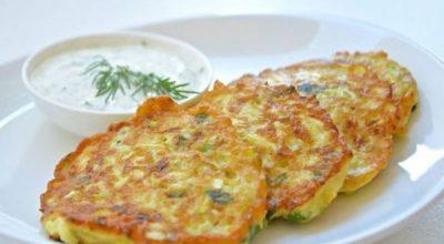 В сезон кабачков я всегда готовлю эти оладьи с сыром: объедение